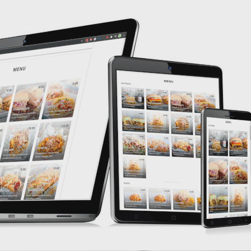 Online Ordering from any device